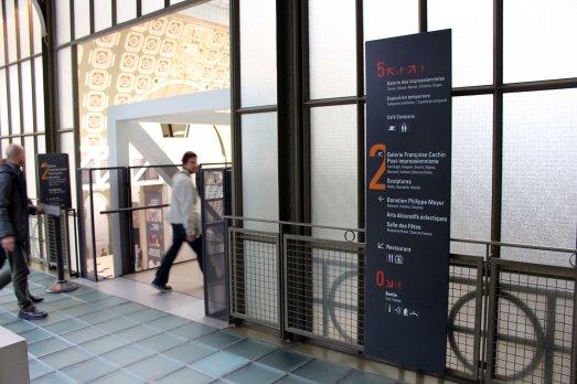 Signalétique Musée d'Orsay