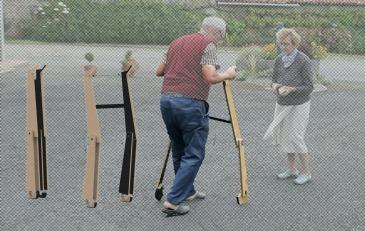 Outil ergothérapeutique de la marche